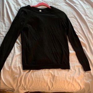 LULULEMON Black Tie Sweater